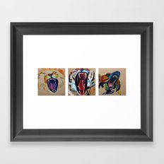 lions and tigers and bears- oh my Framed Art Print