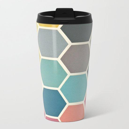 Honeycomb II Metal Travel Mug