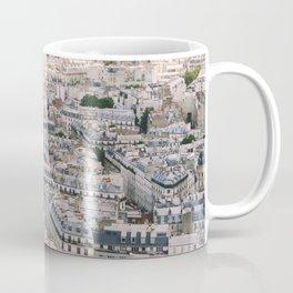 Paris City View from Sacre Coeur Coffee Mug
