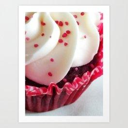 'Cos....Cupcakes Art Print