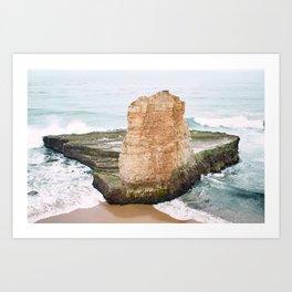Ocean - Pillar Art Print