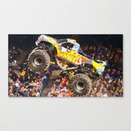 Team Hot Wheels Firestrom Canvas Print