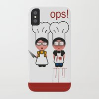fault iPhone & iPod Cases featuring It wasn't my fault by Golosinavisual
