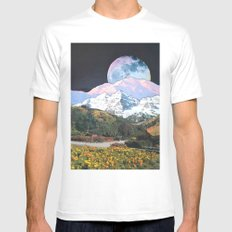 Later In Time MEDIUM Mens Fitted Tee White