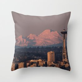 Needle and Baker Throw Pillow