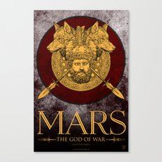 MARS - The God Of War Canvas Print
