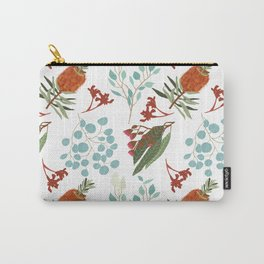 Australian Botanicals - White Carry-All Pouch