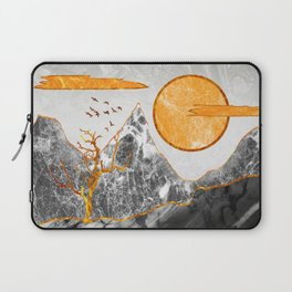 Marble mountains and the fire tree Laptop Sleeve