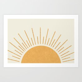 Sunshine Everywhere Art Print
