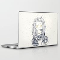 hug Laptop & iPad Skins featuring Hug by huemula