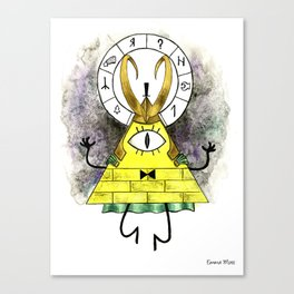 Loki Cipher Canvas Print