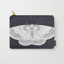 Banded Moth Cutout Carry-All Pouch