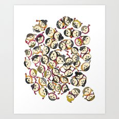 Loving People Art Print