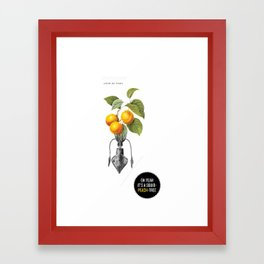 Oh yeah it's a squid-peach-tree. Framed Art Print