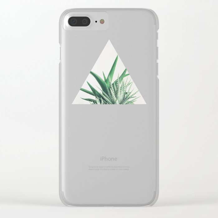 Overlap Clear iPhone Case