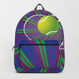 Tennis Ball and Racket Backpack