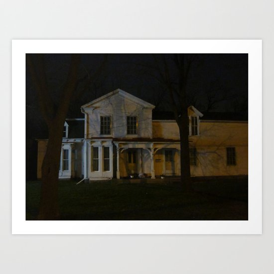 A Very Old House I Know Art Print