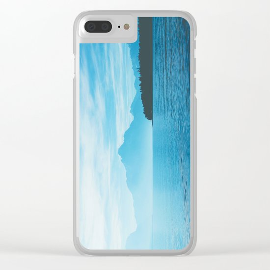 Sail Away With Me Clear iPhone Case