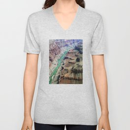 Grand Canyon Bird's eye view #4 Unisex V-Neck