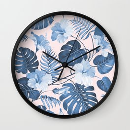 Getting Tropical Wall Clock