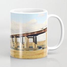 Bridges over a field Coffee Mug