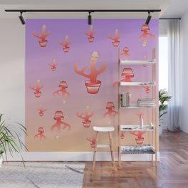 Cactus Girls Wall Mural