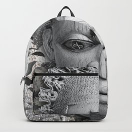 Rubino Vintage Mask Africa Backpack