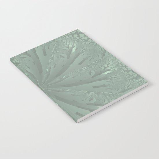 Lost in the Laurels Fractal Bloom Notebook