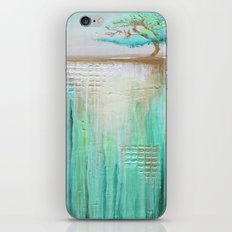 Trees in Green Landscape iPhone Skin