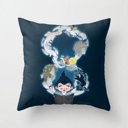 Neverending Throw Pillow