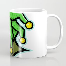 Harlequin Head Side Mascot Coffee Mug