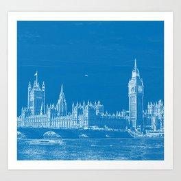 House of Parliament London Art Print
