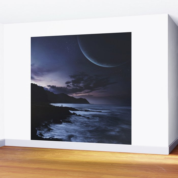 Distant Planets Wall Mural