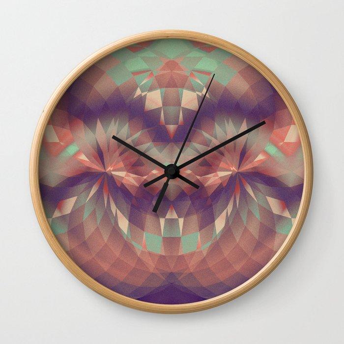 Joker's Smile Wall Clock