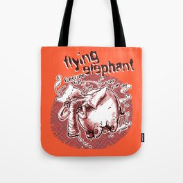 flying elephant Tote Bag
