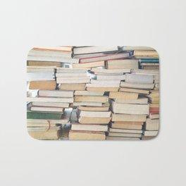 Books, Pages, Stories Bath Mat