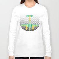 lightning Long Sleeve T-shirts featuring Lightning by Austin Shirtman