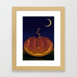 Halloween Spooks! Framed Art Print