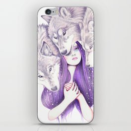 Wolf Pack iPhone Skin