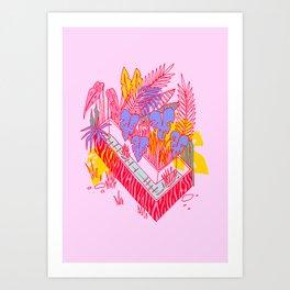 Jungle Fever L Art Print