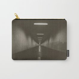 View of the underpass in sepia tone Carry-All Pouch
