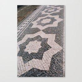 Judaic mosaic Canvas Print