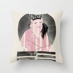 Peineta Throw Pillow