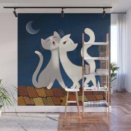 Moonlight Duet Wall Mural