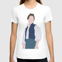 les miserables T-shirts featuring Marius - Eddie Redmayne - Les Miserables - Minimalist design by Hrern1313