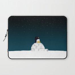Star gazing - Penguin's dream of flying Laptop Sleeve