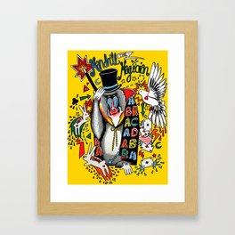 Mandrill the Magician Framed Art Print