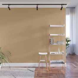 Cozy Autumn Beige Solid Color Pairs To Sherwin Williams Golden Fleece SW 6388 Wall Mural