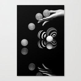 presenting -4- Canvas Print