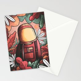The Autumn spaceman Stationery Cards